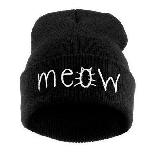 'MEOW' Muts (4 kleuren)